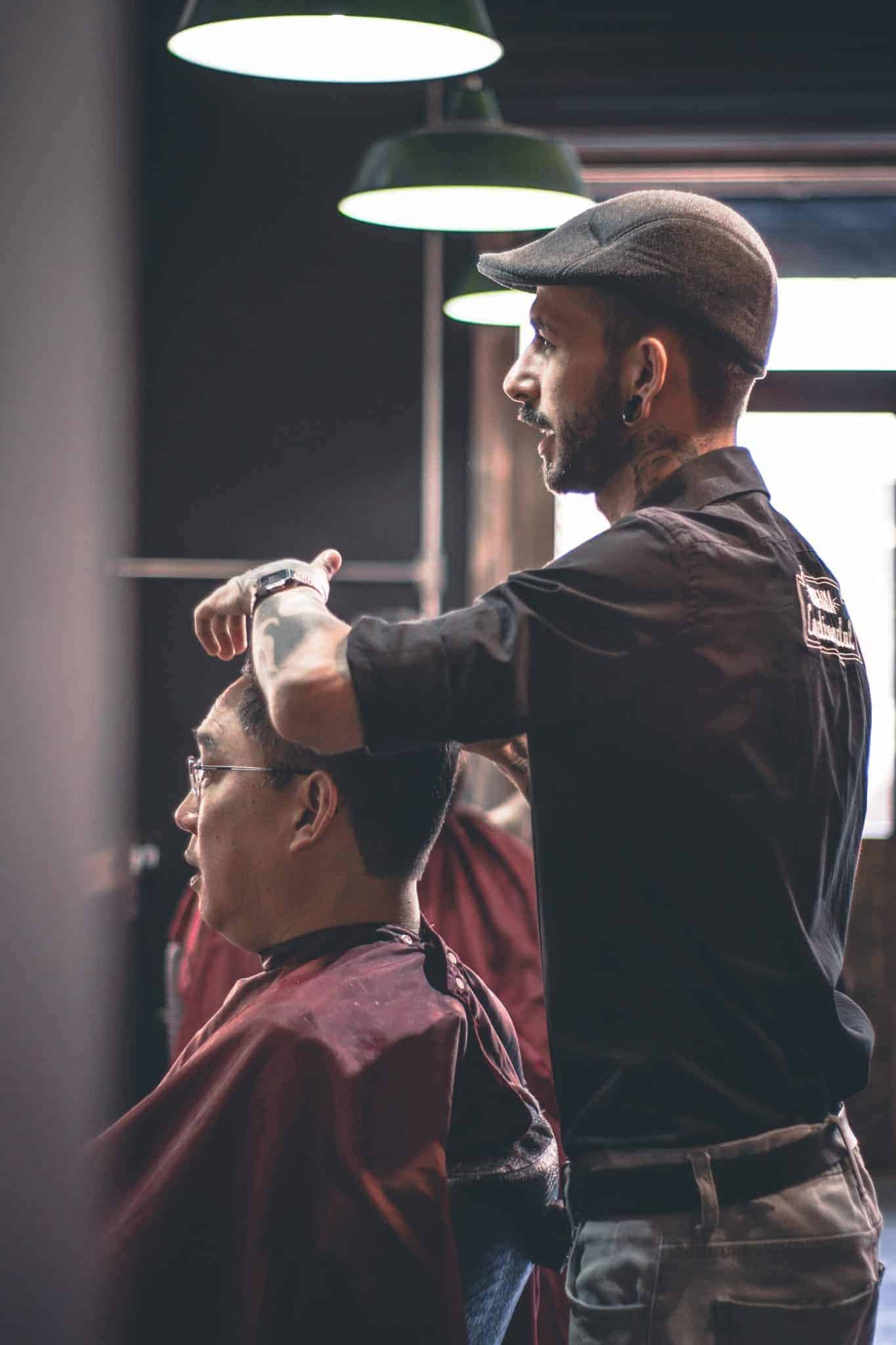 hair salon mens